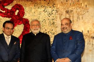 Modi with Jay Shah